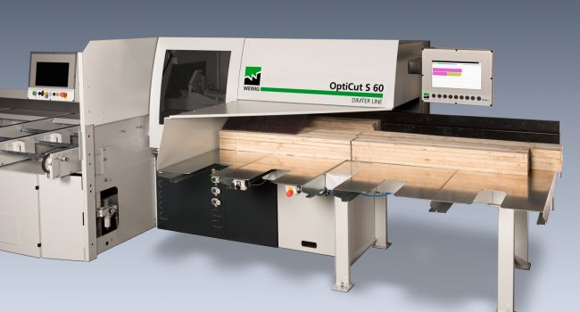 Dimter - OptiCut S60 S90 Cross Cut One Man Operation for Windows and Packaging