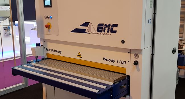 EMC - Woody - Wide belt Sander budget