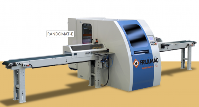 Friulmac - Randomat E - Flooring Through Feed End Profiling Machine