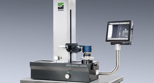 Weinig Toolroom - NEW OptiControl Digital Quality Measuring
